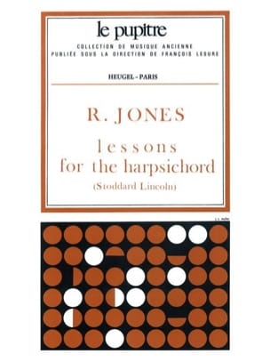 Richard Jones - Lessons For The Harpsichord - Sheet Music - di-arezzo.co.uk