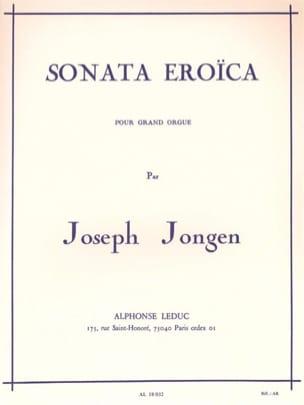 Joseph Jongen - Sonata Eroïca Opus 94 - Partition - di-arezzo.fr