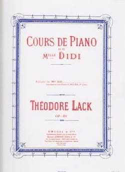Théodore Lack - Preludes of Miss Didi Opus 85 - Sheet Music - di-arezzo.co.uk