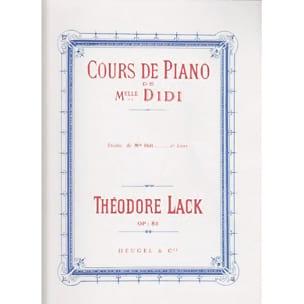 Etudes de Melle Didi Opus 85 Livre 2 - laflutedepan.com