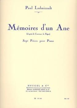Paul Ladmirault - Memorias de un burro - Partitura - di-arezzo.es