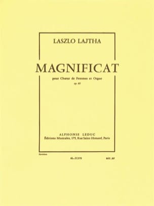Magnificat Opus 60 - Laszlo Lajtha - Partition - laflutedepan.com