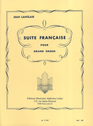 Jean Langlais - French Suite - Sheet Music - di-arezzo.co.uk