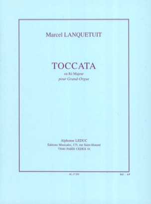 Marcel Lanquetuit - Toccata In D Major - Sheet Music - di-arezzo.co.uk