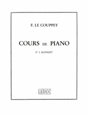 N° 2 Alphabet Opus 17 Couppey Le Partition Piano - laflutedepan