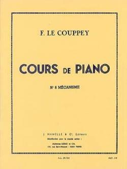 N°8 mécanisme. - Couppey Le - Partition - Piano - laflutedepan.com