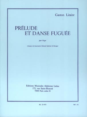 Gaston Litaize - Prelude and Fuga Dance - Partition - di-arezzo.com
