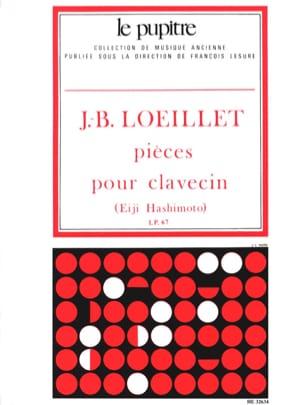Loeillet Jean-Baptiste / Hashimoto Eiji - Pièces De Clavecin - Partition - di-arezzo.fr