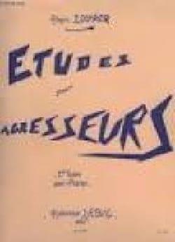 Alain Louvier - Etudes Pour Agresseurs Volume 3 - Partition - di-arezzo.fr