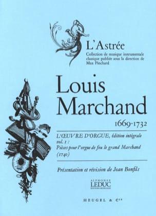 Marchand Louis / Bonfils Jean - Organ Work Volume 1 - Sheet Music - di-arezzo.co.uk