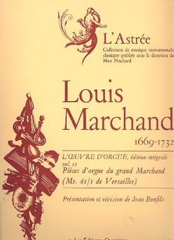 Marchand Louis / Bonfils Jean - Oeuvre D'orgue Volume 2 - Partition - di-arezzo.fr