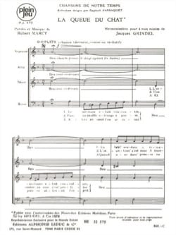 Jacques Marcy - The cat's tail - Sheet Music - di-arezzo.co.uk