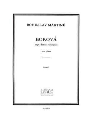 Borova - Bohuslav Martinu - Partition - Piano - laflutedepan.com