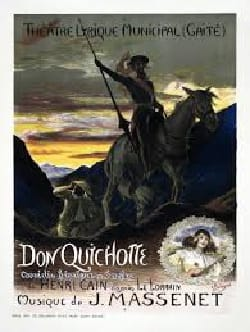 Jules Massenet - Don Quichotte - Partition - di-arezzo.fr