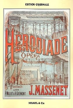 Jules Massenet - Herodias - Sheet Music - di-arezzo.co.uk