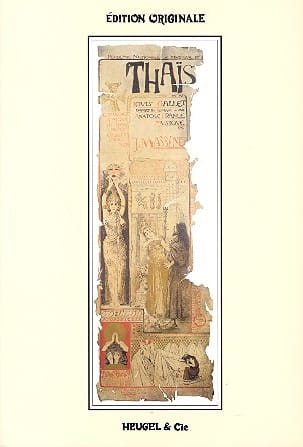 Jules Massenet - Thais - Sheet Music - di-arezzo.co.uk