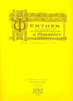 Jules Massenet - Ossian Lied. Werther. Baritone - Sheet Music - di-arezzo.co.uk