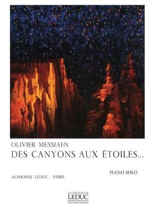Olivier Messiaen - Des Canyons Aux Etoiles - Partition - di-arezzo.fr