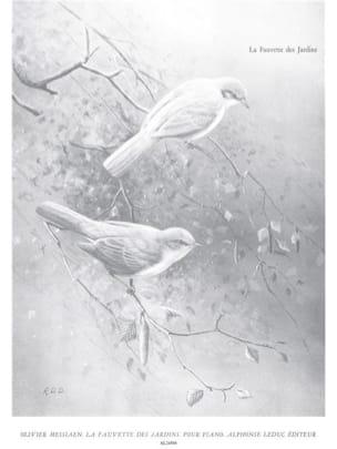 Olivier Messiaen - The Garden Warbler - Partitura - di-arezzo.es