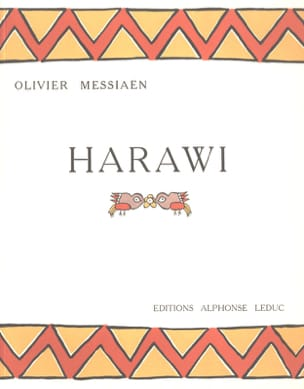 Olivier Messiaen - Harawi - Partition - di-arezzo.fr