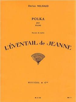 Polka l'Eventail De Jeanne - Darius Milhaud - laflutedepan.com