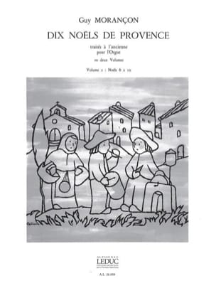 Guy Morançon - 10 Christmas of Provence Volume 2 - Sheet Music - di-arezzo.com