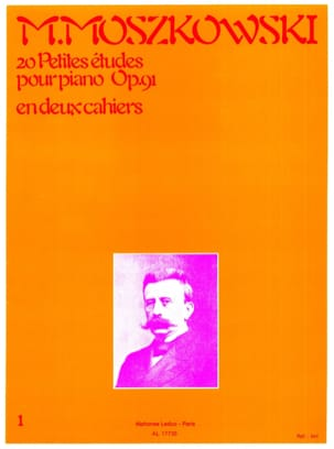 Moritz Moszkowski - 20 Small Opus Studies 91 Volume 1 - Sheet Music - di-arezzo.co.uk