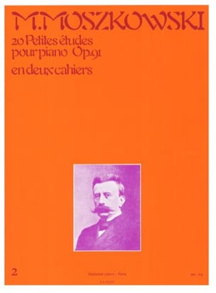Moritz Moszkowski - 20 Small Opus Studies 91 Volume 2 - Sheet Music - di-arezzo.co.uk