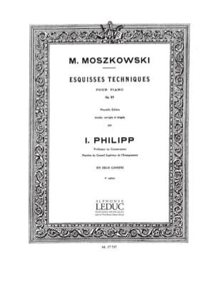 Moritz Moszkowski - Technical Sketches Opus 97 Volume 1 - Sheet Music - di-arezzo.com