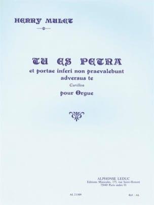 Henri Mulet - Tu Es Petra (Esquisse Byzantine 10) - Partition - di-arezzo.fr