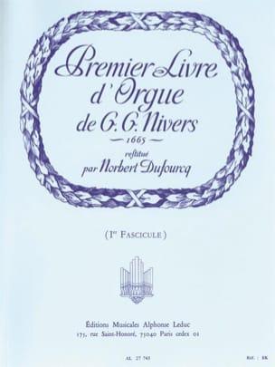 Nivers Guillaume-Gabriel / Dufourq Norbert - Livre D'orgue N°1. Volume 1 - Partition - di-arezzo.fr