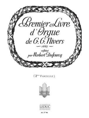 Nivers Guillaume-Gabriel / Dufourq Norbert - Livre D'orgue N°1 Volume 2 - Partition - di-arezzo.fr