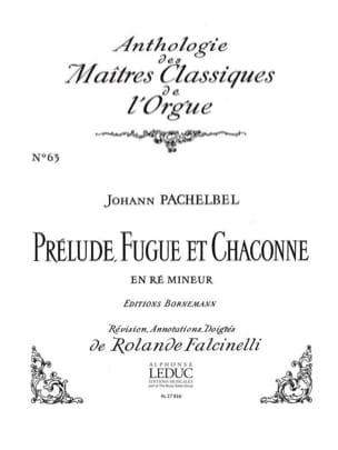 Prélude, Fugue et Chaconne En Ré Mineur - laflutedepan.com