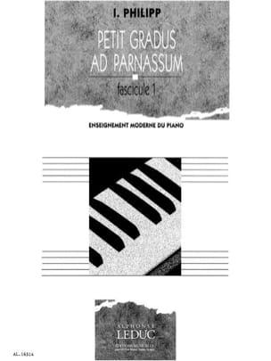 Petit Gradus Volume 1 Isodore Philipp Partition Piano - laflutedepan