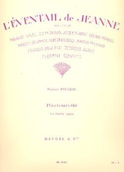 Pastourelle POULENC Partition Piano - laflutedepan