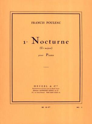 Nocturne N°1 En Ut Majeur - Francis Poulenc - laflutedepan.com