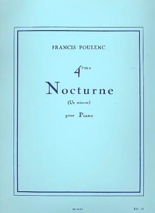 Francis Poulenc - Nocturne N ° 4 In C Minor - Sheet Music - di-arezzo.co.uk