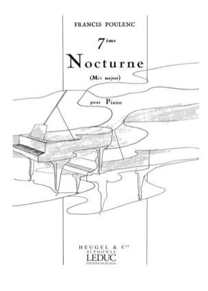 Francis Poulenc - Nocturne N°7 En Mib Majeur - Partition - di-arezzo.fr