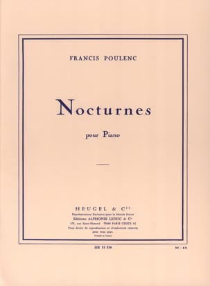 Francis Poulenc - Nocturnes - Sheet Music - di-arezzo.co.uk