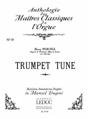 Trumpet Tune - Henry Purcell - Partition - Orgue - laflutedepan.com