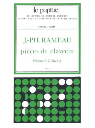 Rameau Jean-Philippe / Gilbert Kenneth - ハープシコードの作品 - 楽譜 - di-arezzo.jp