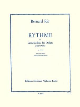 Rythme et Articulation Opus 42 Bernard Rie Partition laflutedepan