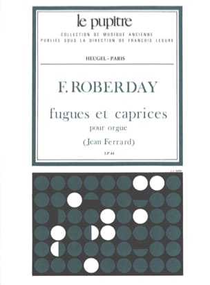Roberday François / Ferrard Jean - Fugues And Caprices For Organ - Sheet Music - di-arezzo.co.uk