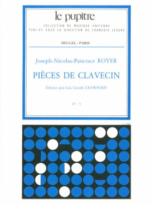 Royer Pancrace / Crawford Lisa Goode - Harpsichord pieces - Sheet Music - di-arezzo.co.uk