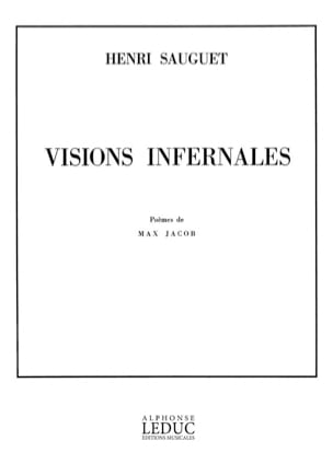 Henri Sauguet - Visions Infernales - Partition - di-arezzo.fr