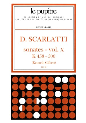 Scarlatti Domenico / Gilbert Kenneth - Complete Works Volume 10. K458 A K506 - Sheet Music - di-arezzo.co.uk