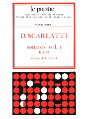Domenico Scarlatti - Complete Works Volume 1. K1 A 52 - Partition - di-arezzo.co.uk