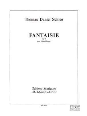 Thomas Daniel Schlee - Fantasy Op. 15 - Sheet Music - di-arezzo.co.uk