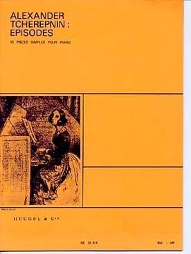 Alexandr Tcherepnine - Episodes - Partition - di-arezzo.fr