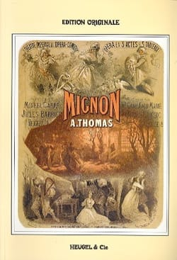 Ambroise Thomas - Mignon - Partition - di-arezzo.fr